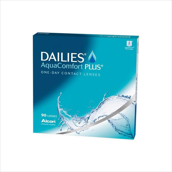 Dailies Aqua Comfort Plus 90 Pack